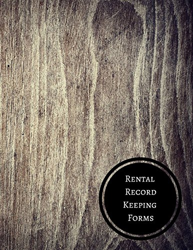 Rental Record Keeping Forms: Property Rent Log