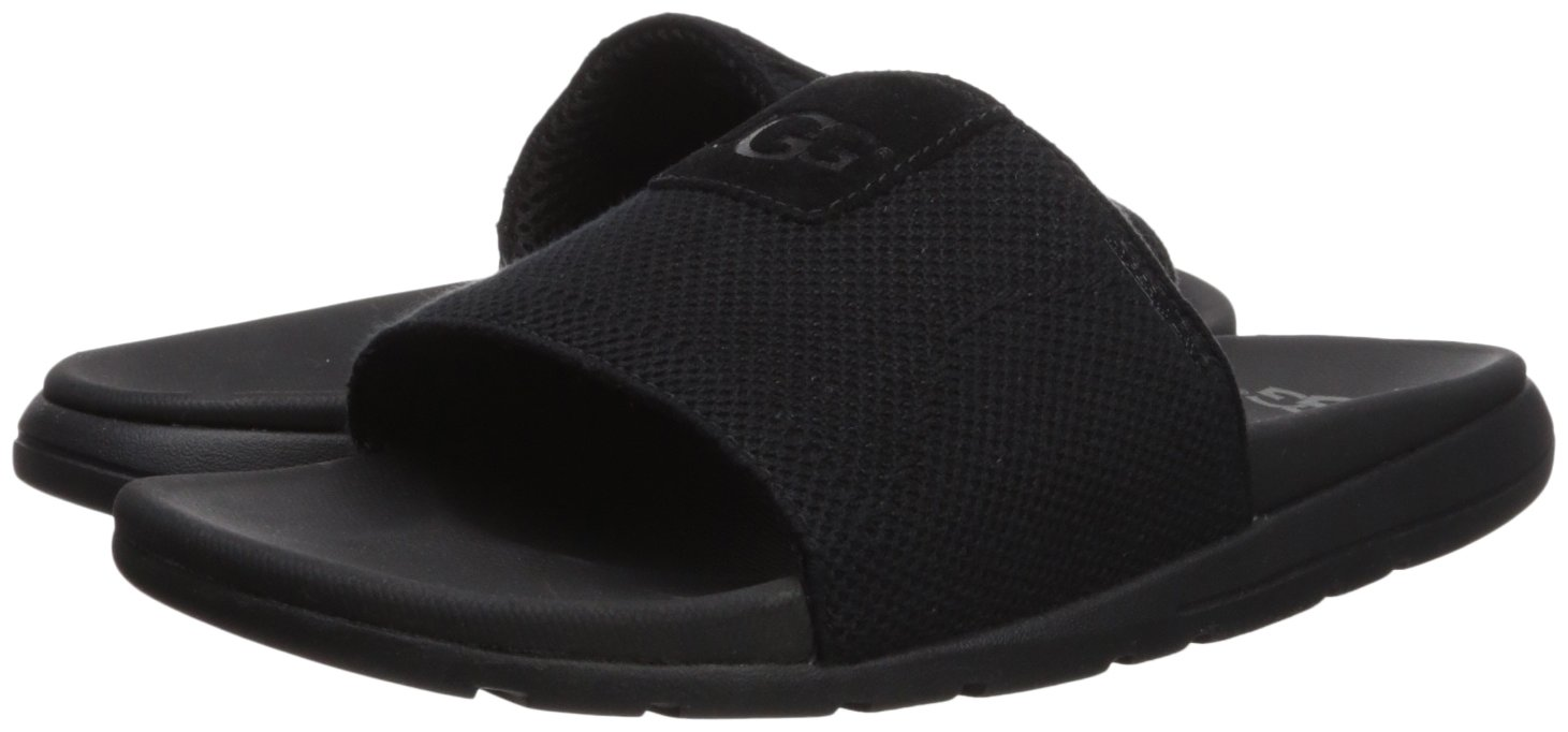 4c6ab51d667 UGG Men's Xavier Hyperweave Slide Sandal, Black, 9 M US: Amazon.com ...