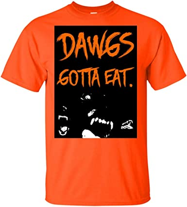 Fun Cleveland Football Quotes Browns Memes Tee Shirt Baker Wore Mayfield Rocked A Dawgs Gotta Eat T-Shirt