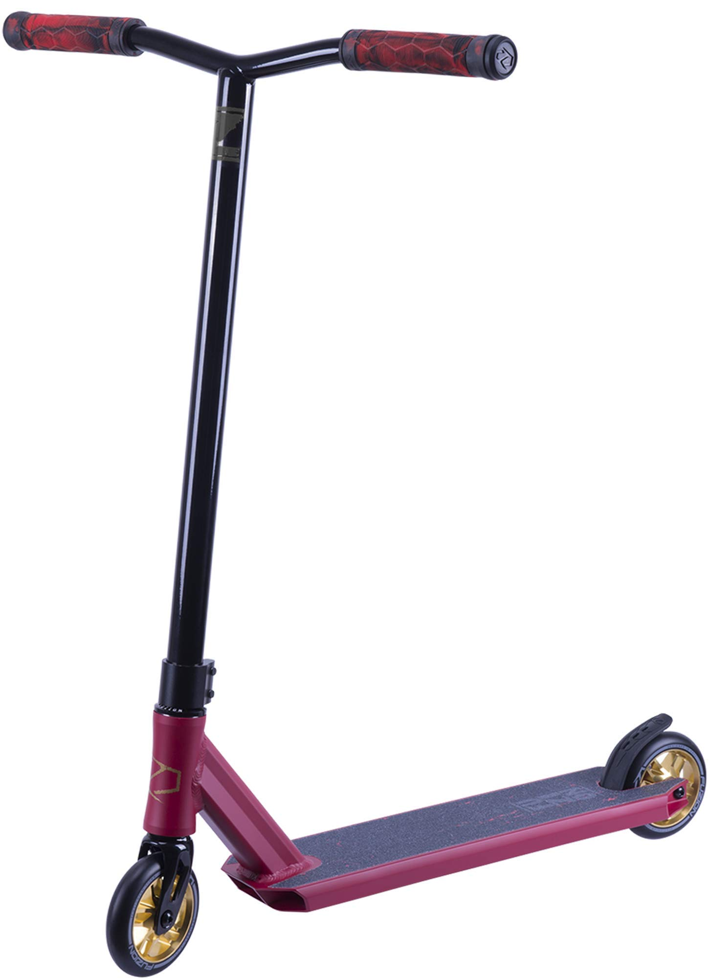 Fuzion Z250 Pro Scooters - Trick Scooter - Intermediate and Beginner Stunt Scooters for Kids 8 Years and Up, Teens and Adults - Durable Freestyle Kick Scooter for Boys and Girls (2019 Scorched Red) by Fuzion