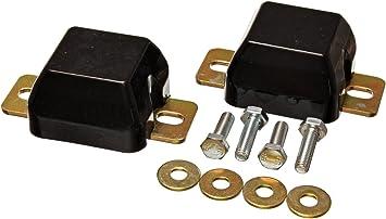 Energy Suspension 4.9103G Bump Stop Set Black Front Performance Polyurethane