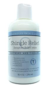 Shingles Lotion Cream for skin affected by Shingles and nerve sensitivity