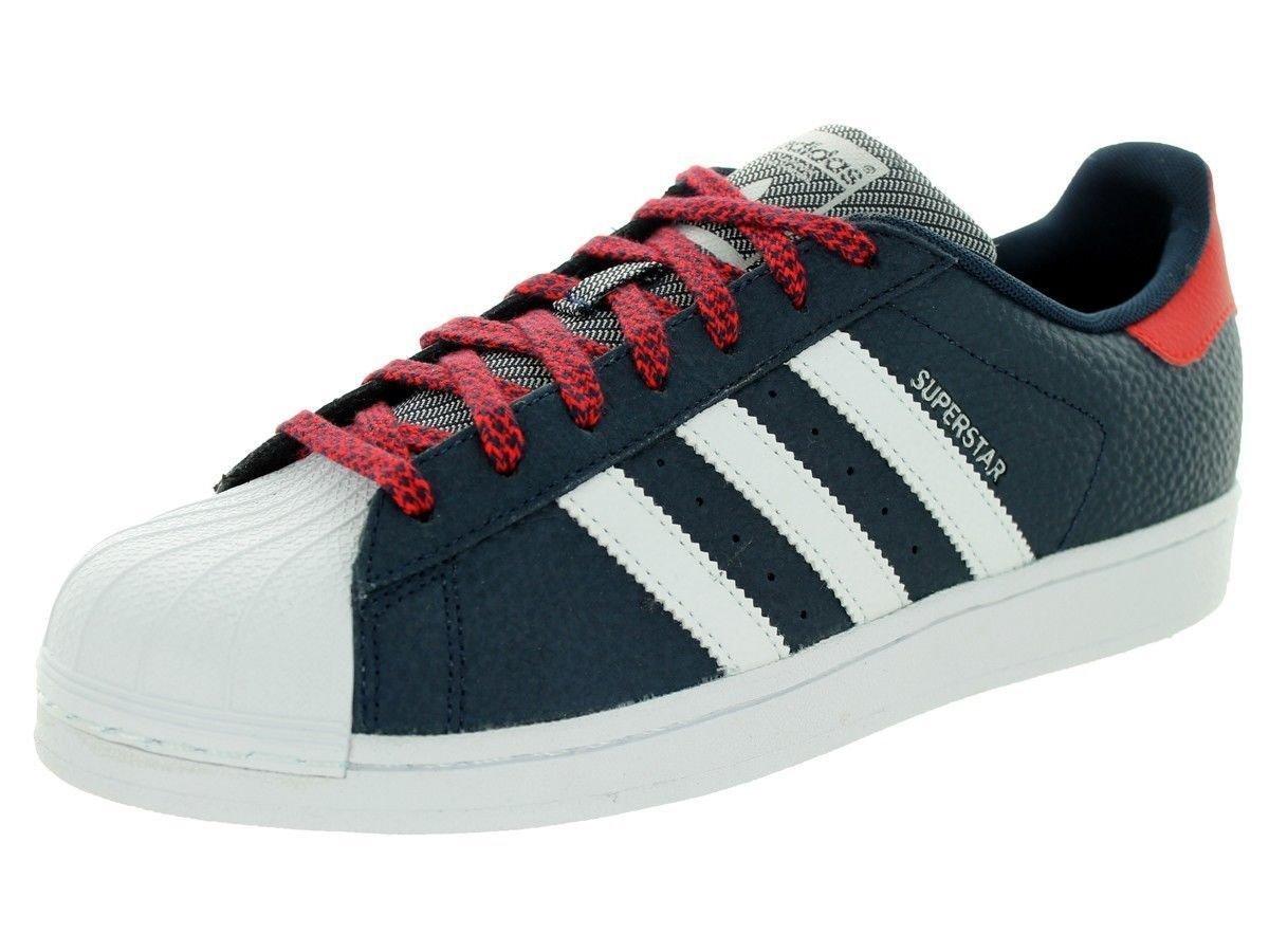 Adidas Superstar Marina Basso Scarpe Uomini Scarpe Marina Superstar / Rosso / Bianco Q16709 Dimensioni c10cba