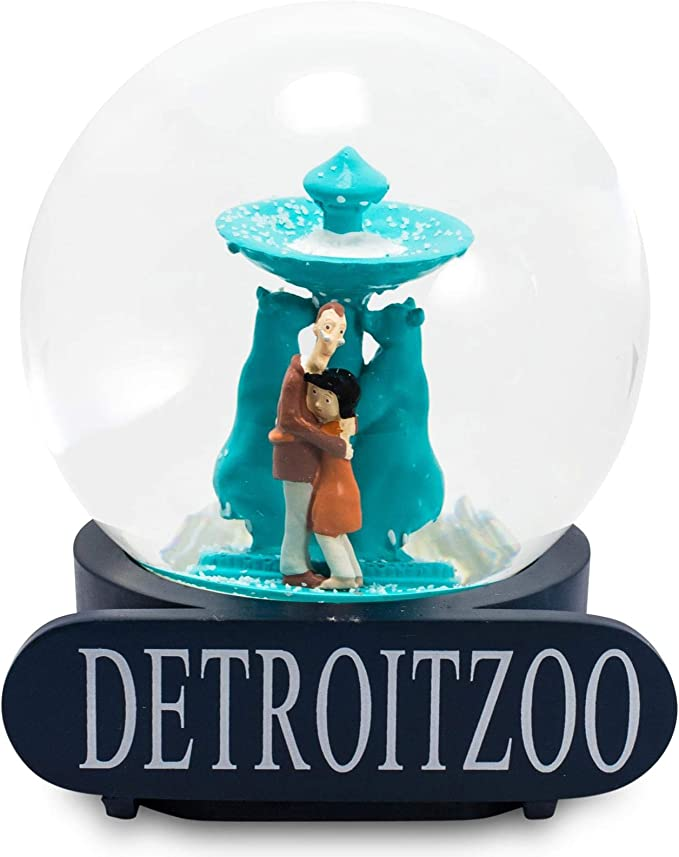Amazon Com Coraline Special Snow Globe Detroit Zoo Collectible Display Piece Feature S Coraline S Parents Trapped Inside Official Coraline Movie Collectible Snow Globe Stands 6 Inches Tall Toys Games
