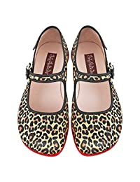 Hot Chocolate Design Chocolaticas Leopard Women's Mary Jane Flat