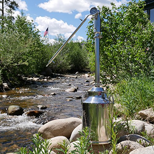 8 gallon stainless steel milk can - 3