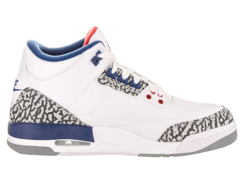 Amazon.com | Jordan Nike Kids Air 3 Retro OG BG Basketball Shoe | Basketball