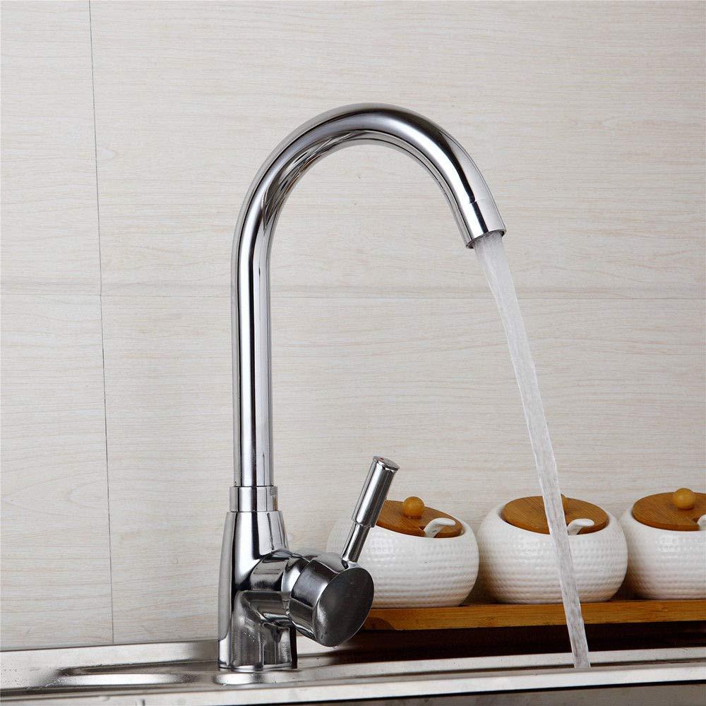 catalpa Fiore rubinetto da cucina 360gradi rotante 360° girevole rubinetto da cucina Miscelatore rubinetto lavello rubinetto monocomando per lavabo Catalpa Blume