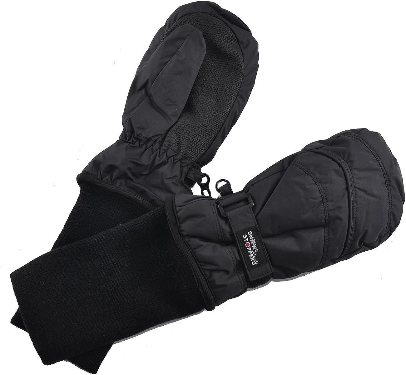 Long-sleeved Mitten Snow Snowboard Windproof Waterproof Children Ski Gloves
