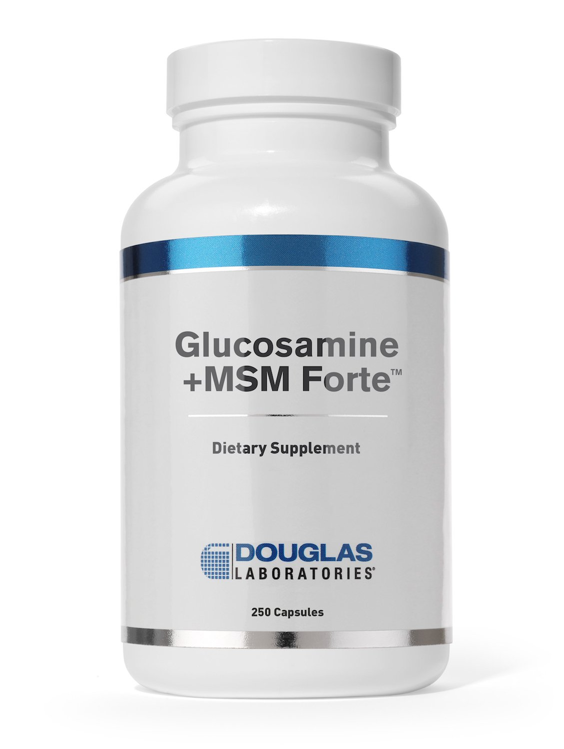 Douglas Laboratories - Glucosamine + MSM Forte - Nutritional Formulation to Support Maintainance and Health of Aging Joints* - 250 Capsules
