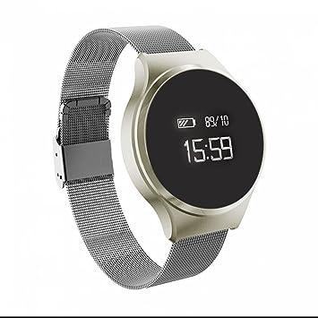 Montre Connectée,Bracelet Connecté Fitness Tracker dActivité Montre Cardio Sport Alarme,Anti
