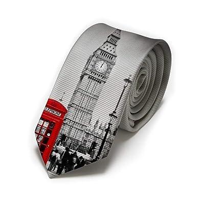 Big Ben - Cabina de teléfono roja para hombre, corbata clásica ...