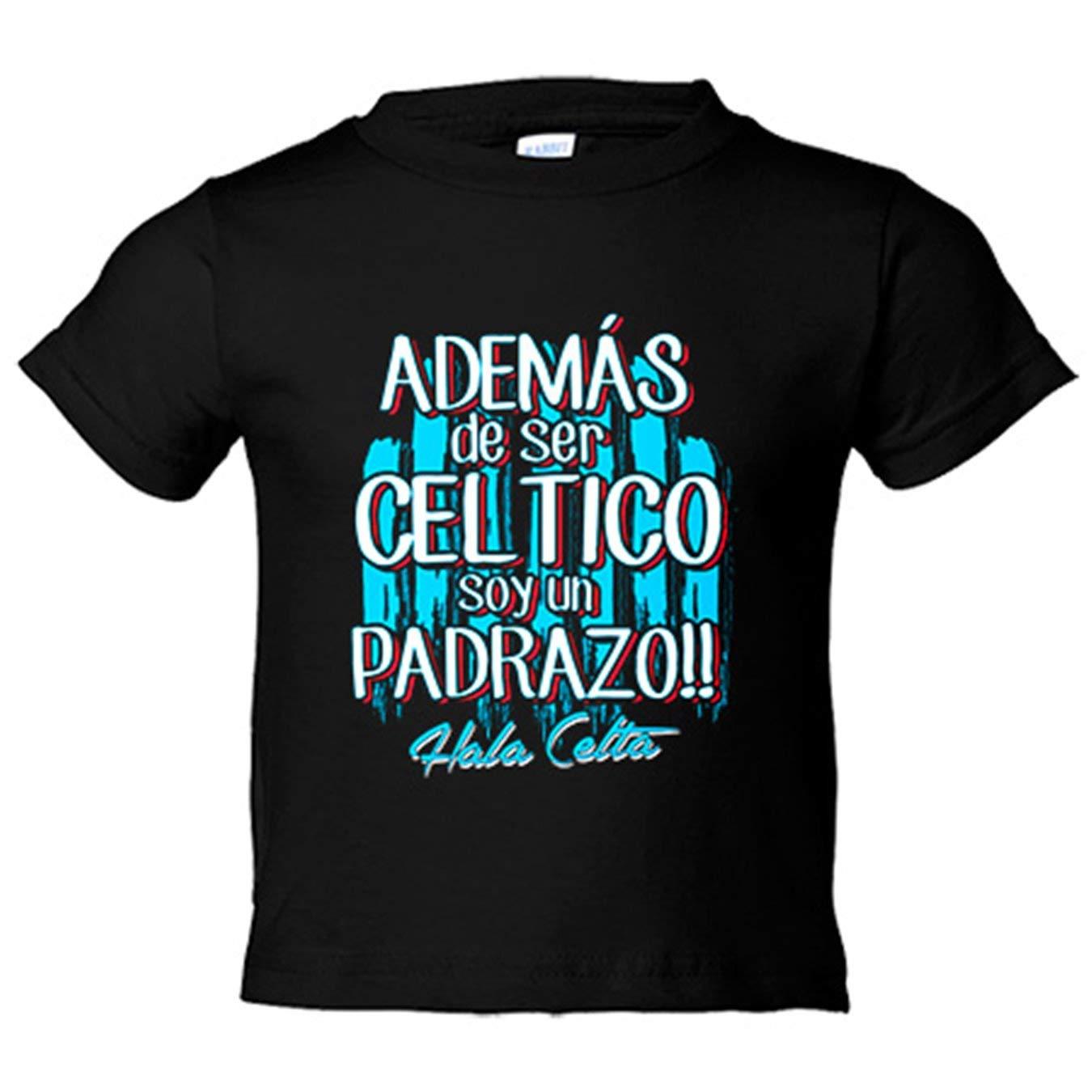 Camiseta niño además de ser Céltico soy un padrazo Vigo fútbol ...