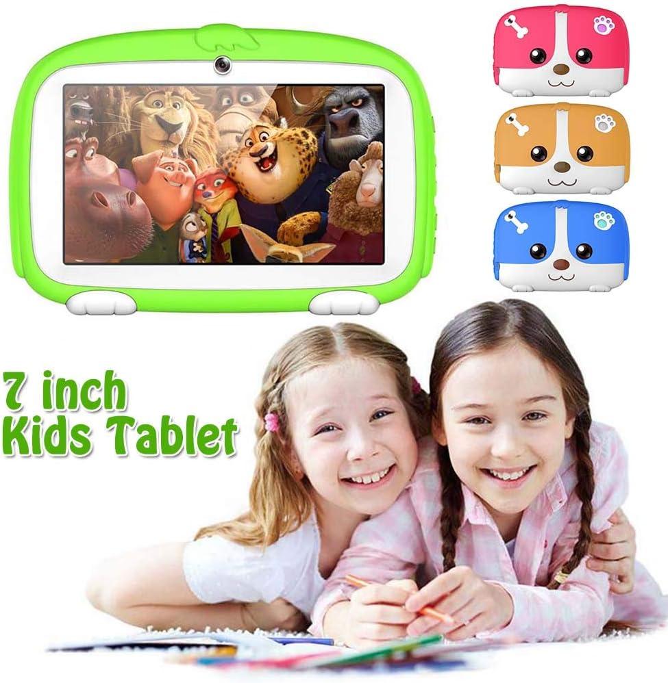YONIS Tablette Educative Enfant Yokid Android 6.0 Quadcore 1gb Ram WiFi 8go Rom Orange