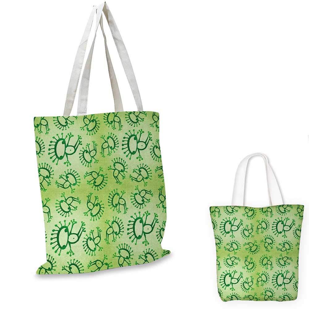 GreenAbstract フローラルオーナメント 自然にインスパイアされたアーティスティックな枝 葉っぱ グリーンアップル グリーン ホワイト 15