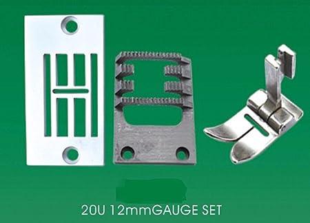 12 mm de ancho conjunto de calibre de agujas para cantante 20u ...