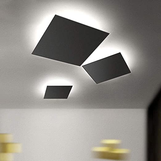 KJRJXDD Lámpara de Techo LED empotrada en el Techo con luz ...
