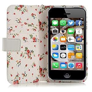 Mobiletto Lady funda para Apple iPhone 5/5S Blanco