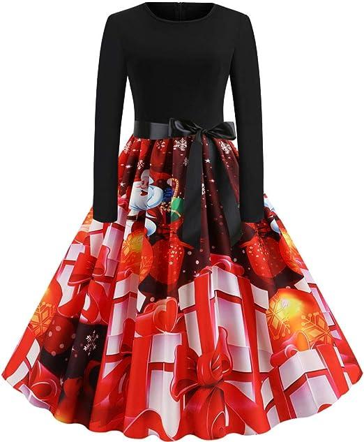 ღLILICATღ Vestido Mujer De Fiesta, Vestidos Mujer Otoño Tallas ...