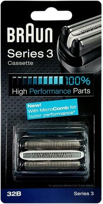 Braun - Combi-pack 32B - Láminas de recambio + portacuchillas para ...