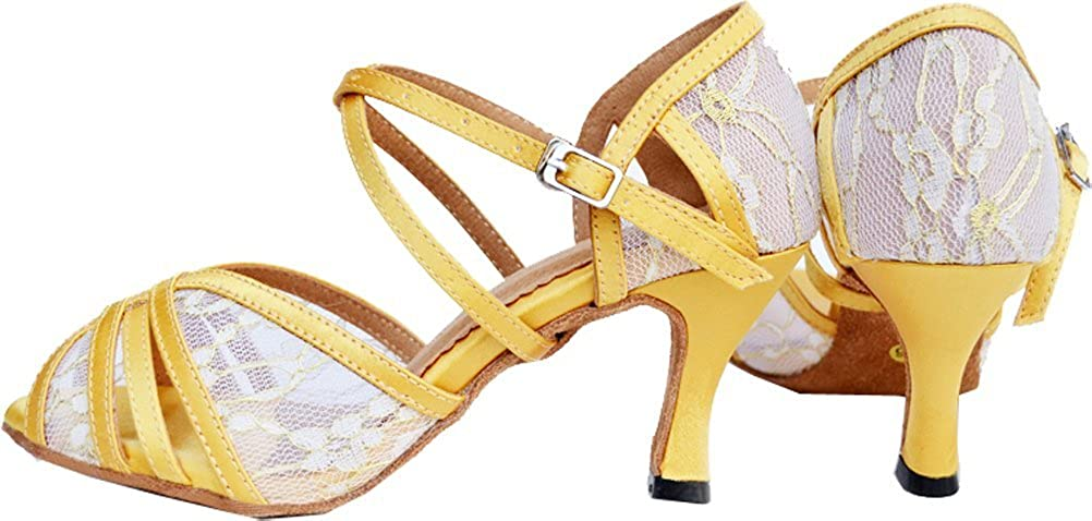 Womens Latin Ballroom Shoes Body Strap Strap Body Peep-Toe Professional Dance-Shoes 004 B07G2Y4SCS Dance 726217