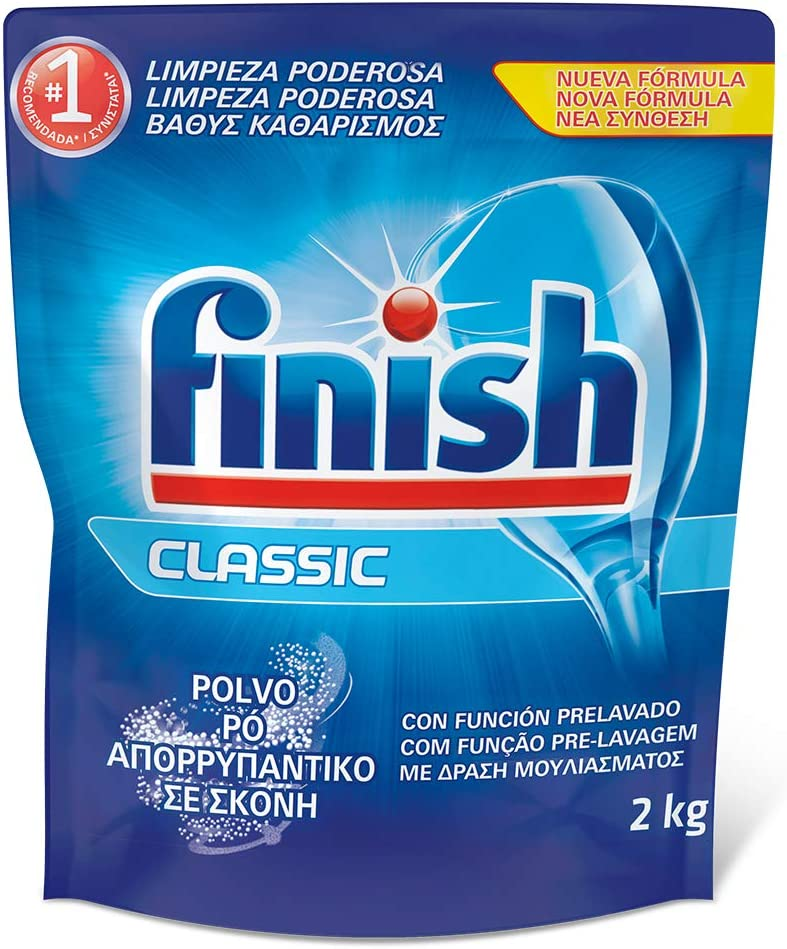 Finish ECO Recarga Lavavajillas Polvo - 2 kg: Amazon.es: Amazon Pantry
