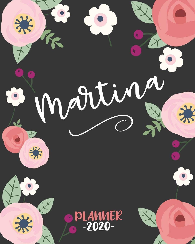 Martina: Diario Agenda Settimanale Datato con Calendario ...