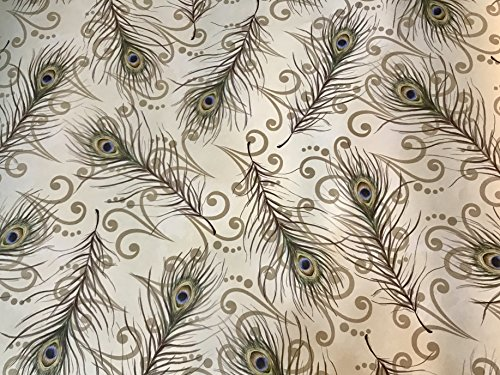 """Lady Jayne Lavender Scented Drawer Liners 23"""" by 16.5"""" Peacock -6 sheets by Lady Jayne"""