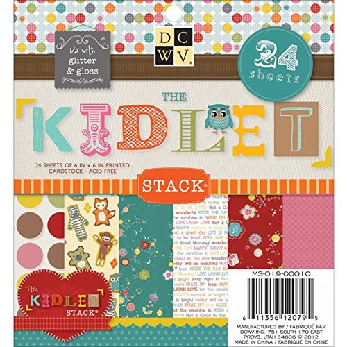 (Die Cuts With A View Stack, 6-inches by 6-inches, Kidlet)