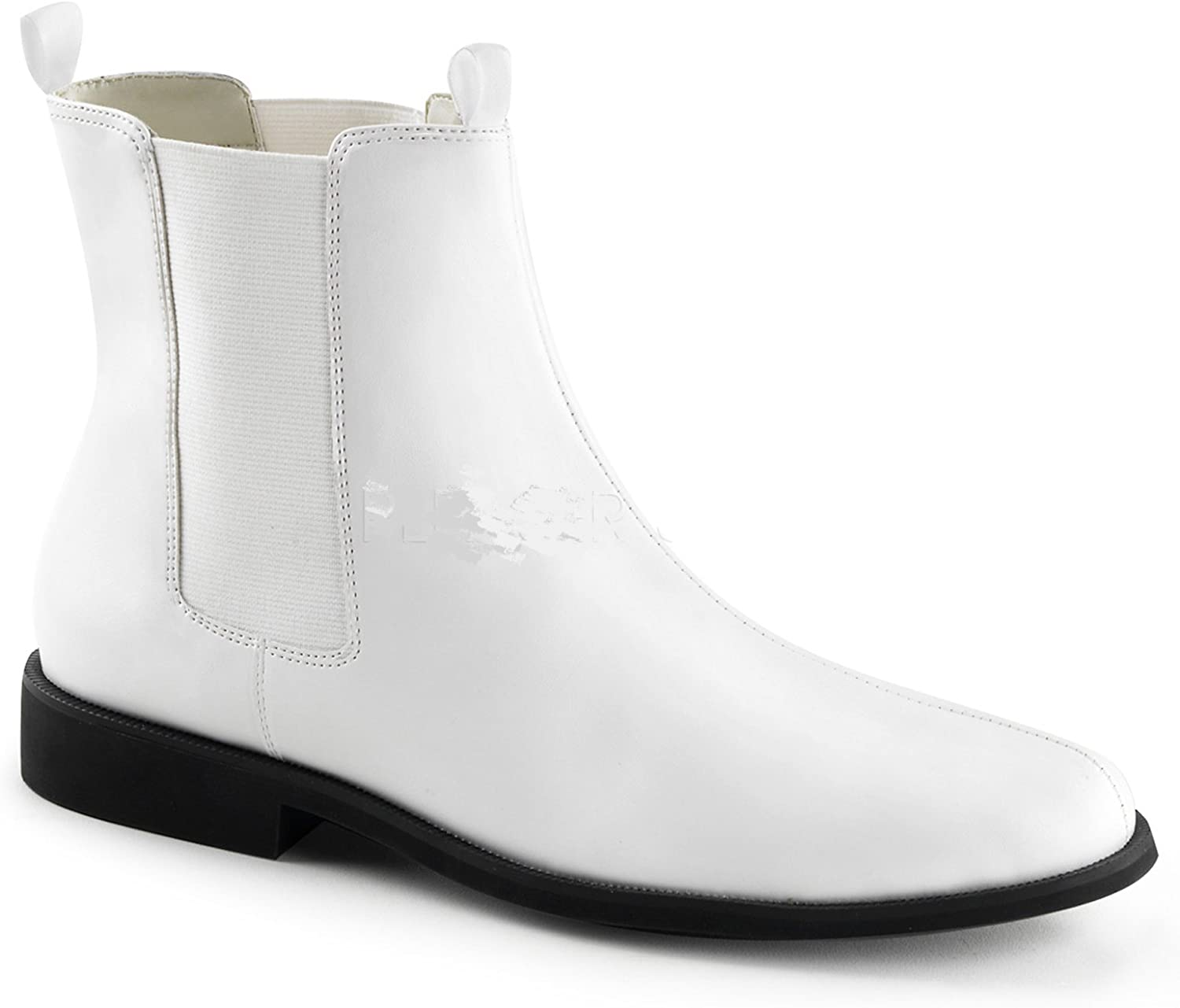 Mens White Trooper Boots Stormtrooper