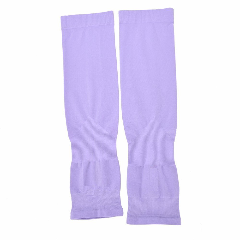 KYRON AQUA-X LET'S SLIM UV PROTECTION DRIVING AND SPORTS ARM SLEEVES  PROTECT FROM DUST , POLLUTION, SUNBURN (PURPLE)