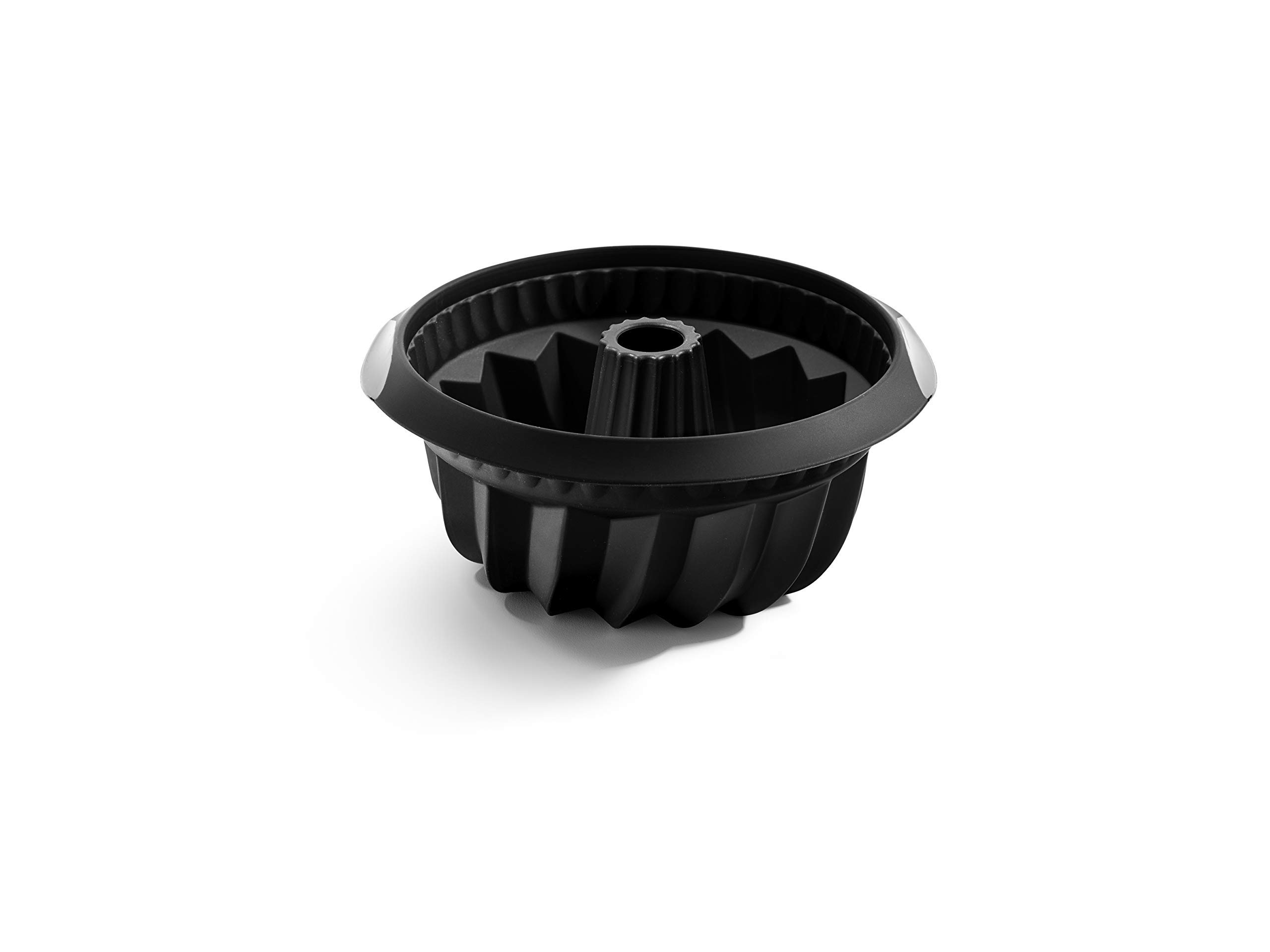 Lékué Classic - Molde Hondo para savarín, 22 cm, Color Negro product image