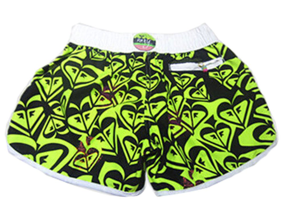 Womens Striped Swimsuit Surfing Shorts,04, M PANDA SUPERSTORE PS-SPO2611203011-FLORA00225
