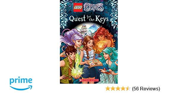 Amazon.com: Quest for the Keys (LEGO Elves: Chapter Book #1 ...