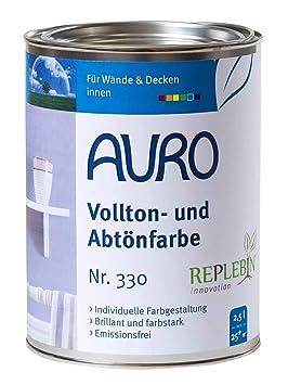 Auro Colorant Pour Peinture Murale Teinte Jaune Ocre 25 L N