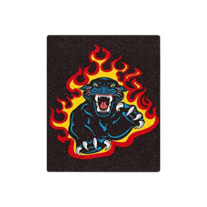 Amazoncom Interestprint Black Panther Attack In Fire And