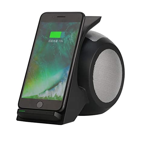 Amazon.com: 10W Fast Wireless Charger Bluetooth Speaker with ...