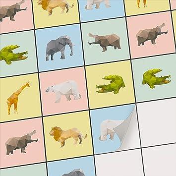 Creatisto Fliesen Mosaik Klebefliesen Fliesensticker Klebefolie