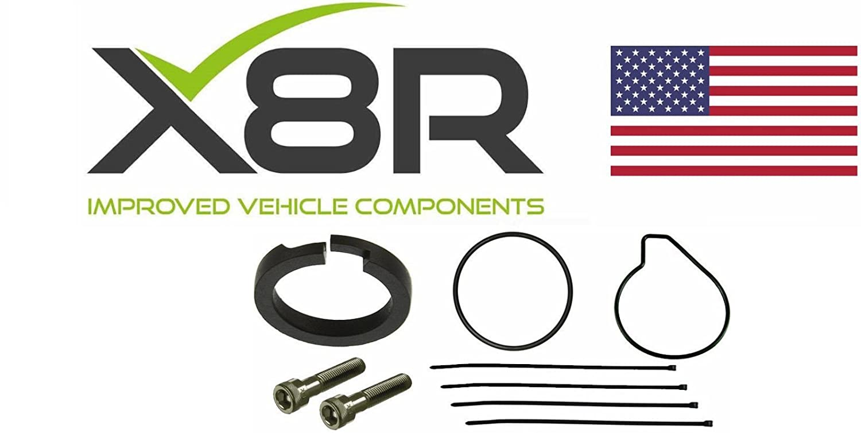 Mercedes E Class W211 Wabco Air Suspension Compressor 2003 E500 Diagram Wiring Schematic Piston Ring Repair Fix Kit X8r45 Automotive