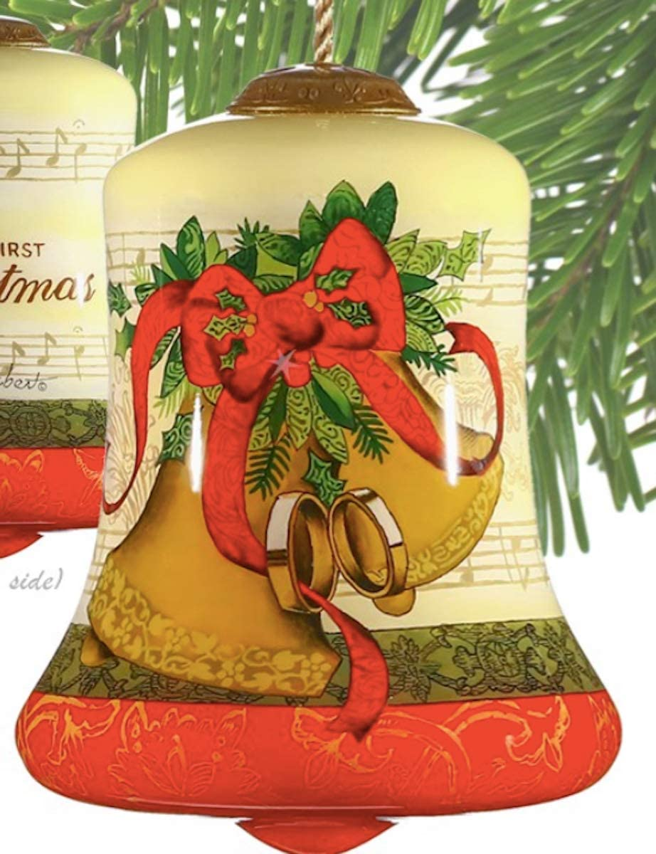InnerBeauty Adorno navideño de Cristal de la Marca, diseño de Lori ...