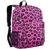 Wildkin Leopard Crackerjack Backpack, Pink