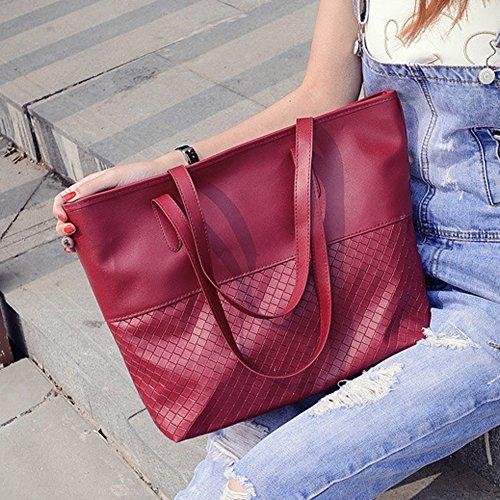 Red femme AFfeco Cabas AFfeco femme Cabas pour pour 4p70x6Zn4