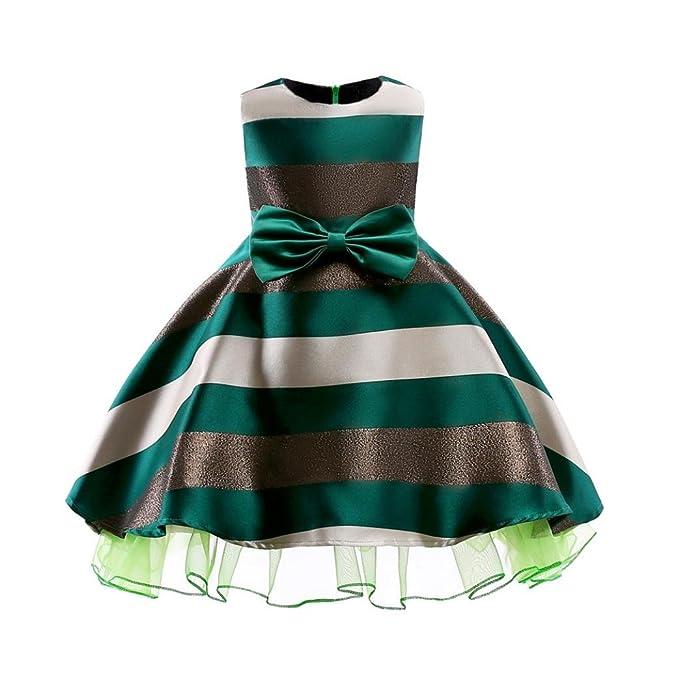 HUIHUI Kleid Mädchen, HUIHUI Toddler Mädchen Ärmelloses Strip ...