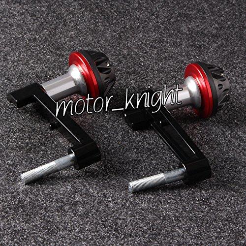 2008 Honda Cbr 1000 - Decal Story CNC Engine Cover Crash Pad Frame Protector Slider For Honda CBR 1000RR 08-12 Red