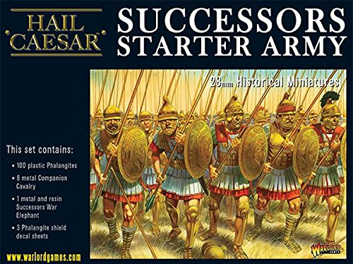 Warlord Games, Macedonian Successor Starter Army, Hail Caesar Wargaming Miniatures by hail caesar