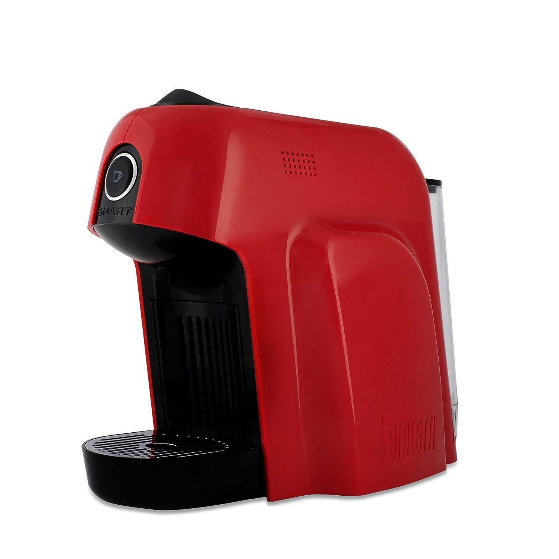 Bialetti Smart - Máquina para Café Espresso con cápsulas One Size rojo