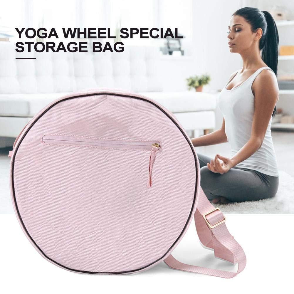 Rueda de Color Rosa Bolsa de Yoga, Yoga Bolsa de ...
