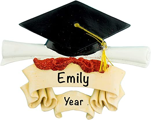 Personalised Wooden Photo Frame Graduation Gift Celebration Mortar Board Scroll