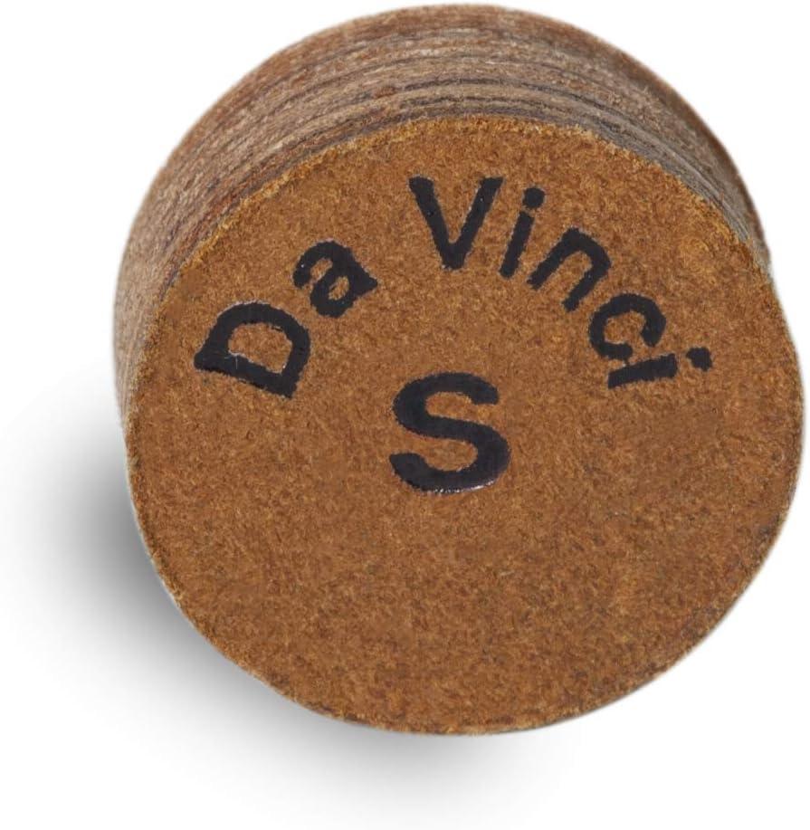 Longoni da Vinci piscina billar cue tip – 1 pc – 13 mm – suave ...