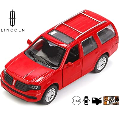 Lincoln Navigator 2020 Diecast Car - 1:46 Scale Metal Model Luxury SUV - Russian Die-cast Toy Cars: Toys & Games